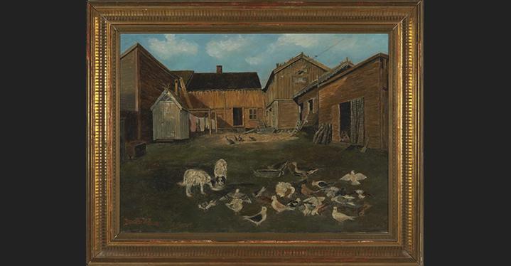 Nytt Sælø-maleri til Vadsø