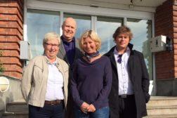 Kulturdepartementet og Kulturrådet på befaring i NRK-bygg