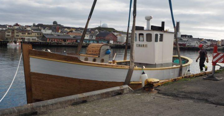 Sjøsetting av Einar II