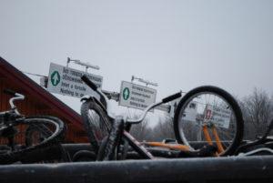 Sykler grensestasjon