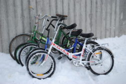 Med sykkel over Storskog grensestasjon