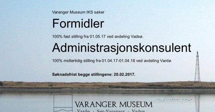 Ledige stillinger ved Varanger museum
