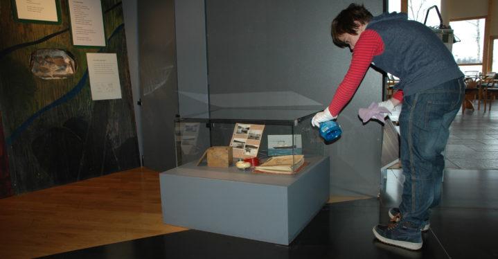 Jobbskygging på Grenselandmuseet