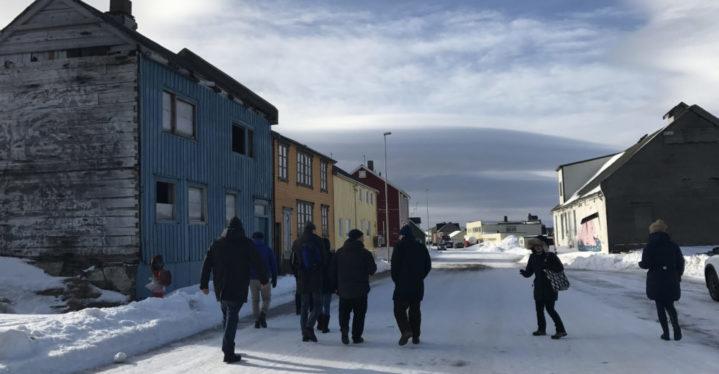 Riksantikvaren med følge besøkte Vardø