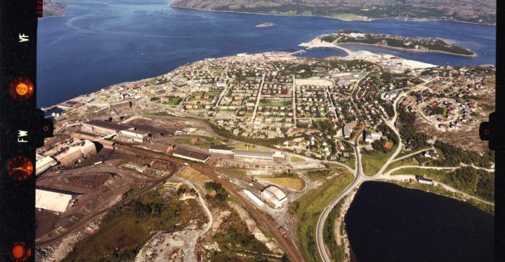 Flyfoto fra Kirkenes