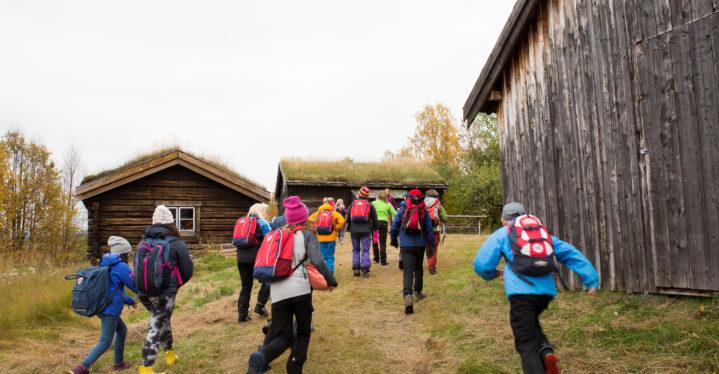 Nybyggerliv på Bjørklund gård