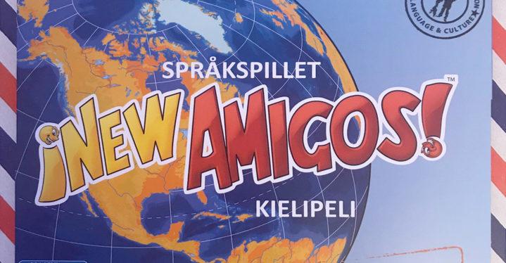 Språkspillet New Amigos på kvensk