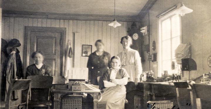 Nettgjensyn: Sterke Finnmarkskvinner rundt 1913