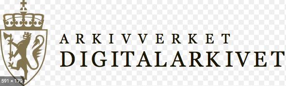 Logo og link til Digitalarkivet.