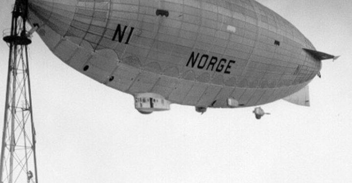 Luftskipsmasta i Vadsø – del av thrilleren om luftskipene «Norge» og  «Italia»