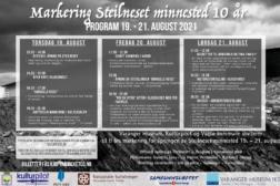 Markering Steilneset Minnested 10 år.